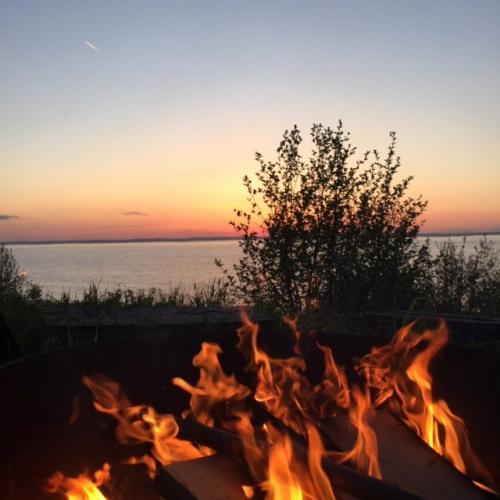 Blaze on the beach